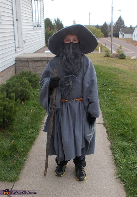 homemade wizard costume  boys