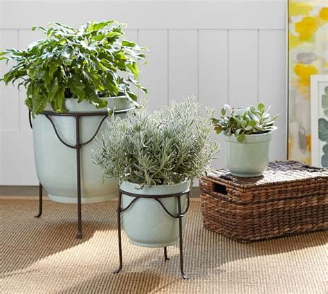 pottery barn planters planter pottery barn