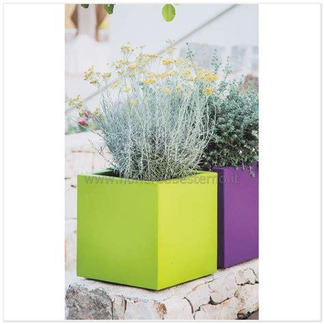 fioriere pvc fioriere in pvc cube flowerpot 83418640 eco sostenibile