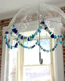 baby shower umbrella ideas sprinkled with cloud baby shower