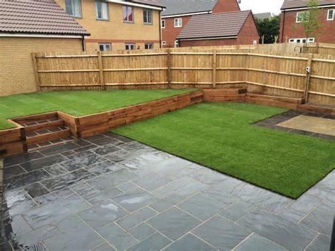 slabbed patio designs slabbed garden hawe park