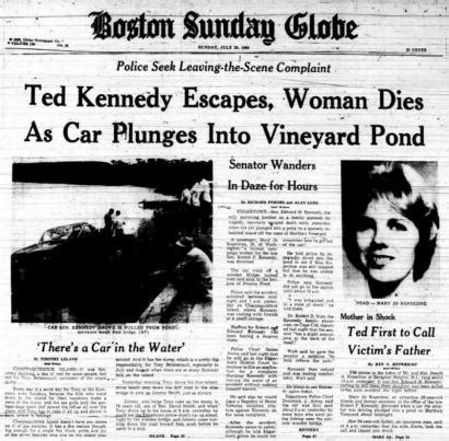 When Did Chappaquiddick Happen New To Depict What Ted Kennedy Had To Go Through At Chappaquiddick