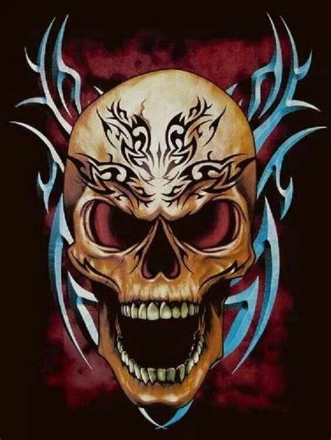 pin  zombee fox  skulls grim reapers  skull