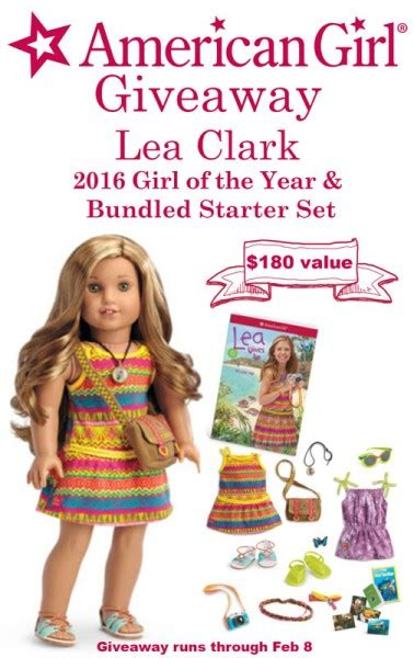 2016 goty lea clark doll giveaway american girl ideas 2016 american girl doll of the year giveaway mom of