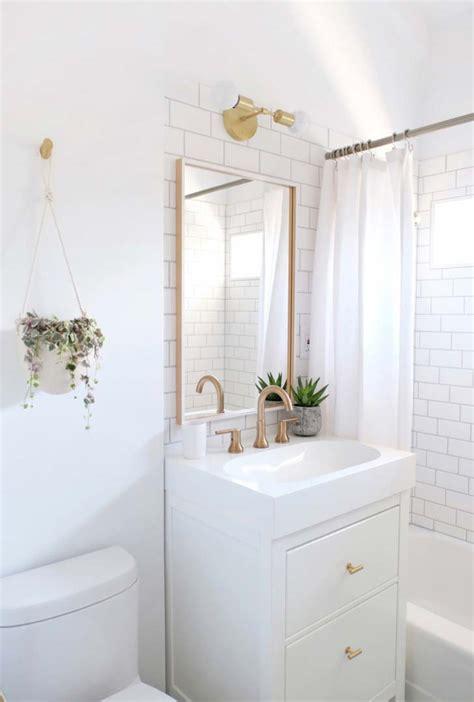 all white bathroom ideas 2018 banheiros pequenos decorados 100 ideias fotos projetos