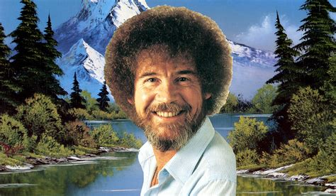 bob ross painting photoshop adobe brings back bob ross in the of sketching