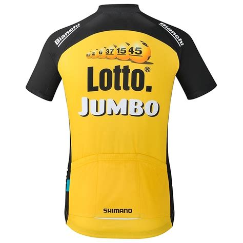 Jegging 78 Polos Jumbo 2017 lotto nl jumbo yellow cycling jersey and bib shorts set