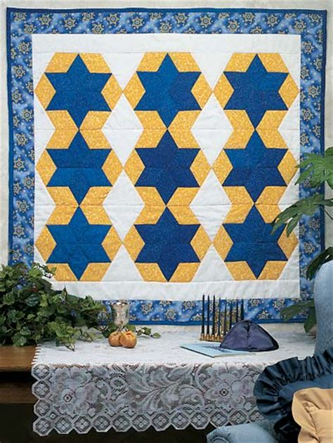 Of David Quilt by Hanukkah Quilt Patterns 6 Patterns For The Festival Of Lights