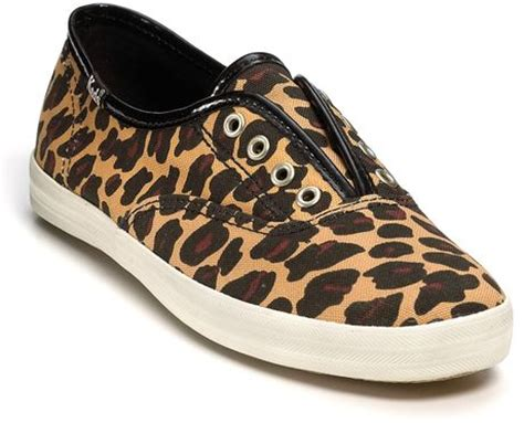keds leopard sneakers keds chion animal laceless sneakers in animal leopard