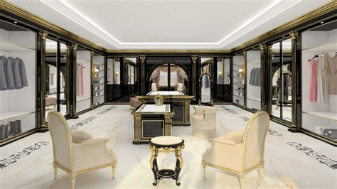 cabine armadio di lusso una cabina armadio di lusso per ville esclusive