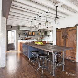 industrial style kitchen islands reclaimed wood island tops reclaimed wood kitchen