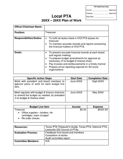 best photos of pta bylaws template pta membership form