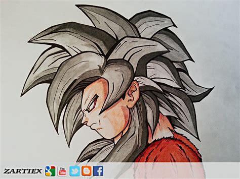 imagenes de goku graffitis como dibujar a goku ssj4 dibujos de goku ssj4 dragon
