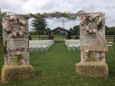 Country Wedding by Outdoor Country Wedding Decoration Ideas Image Collections