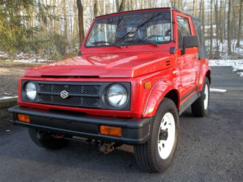 1994 Suzuki Samurai For Sale 1994 Suzuki Samurai Garage Find No Reserve For Sale