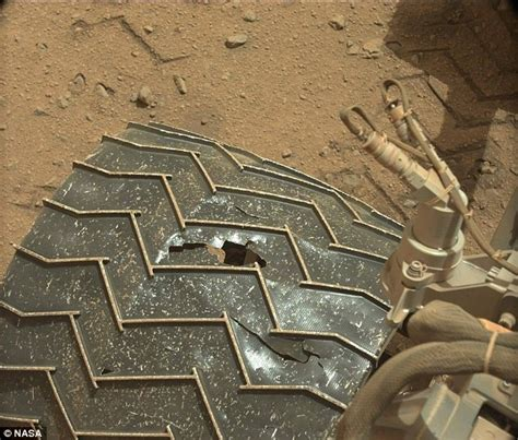 how many rovers landed on mars nasa s curiosity rover has a puncture daily mail