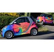 Psychedelic Smart Cars &171 Ashland Daily Photo