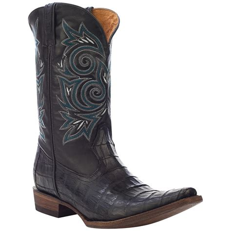 s rocky 174 12 quot handhewn snip toe western boots