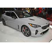2018 Kia Stinger Debuts With Twin Turbo V 6 Rear Wheel Drive