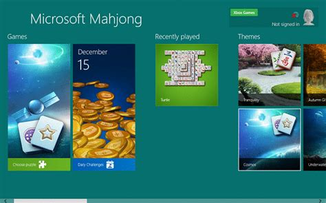 microsoft mahjong for windows 10 microsoft revs its old games in windows 8 windows 10