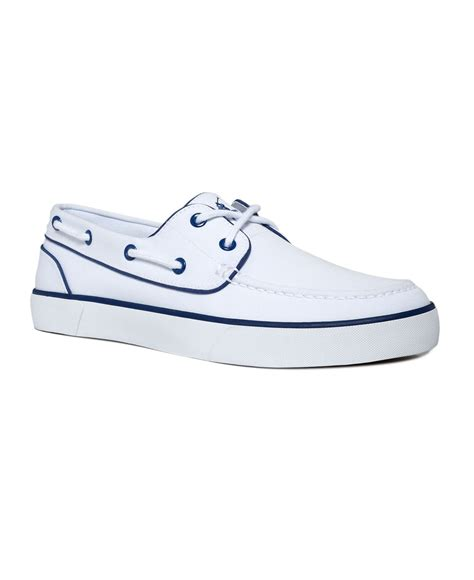 white polo boat shoes polo ralph lauren shoes lander boat shoes mens boat
