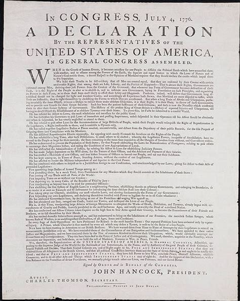 sections of declaration of independence digital notebook declaration of independence old school
