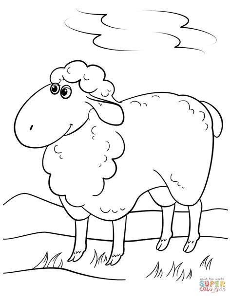 sheep coloring page sheep coloring page free printable coloring
