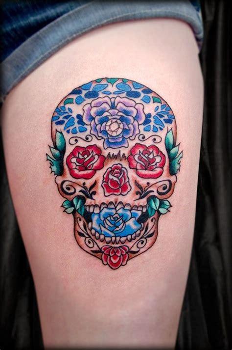 small sugar skull tattoo meaning adam sugar skull studio would a small one