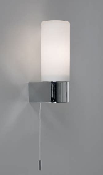 Bathroom Light Pull Cord Wall Mounted Bathroom Light With Pull Cord Chrome Brabin Fitz