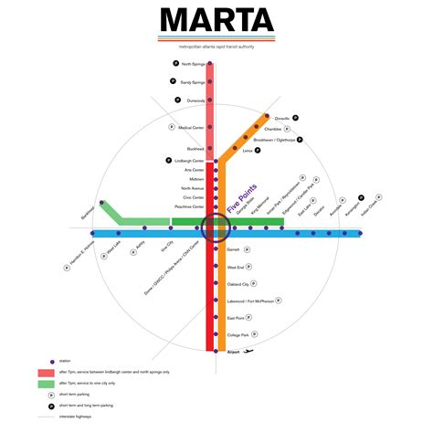 marta station map map of world maps