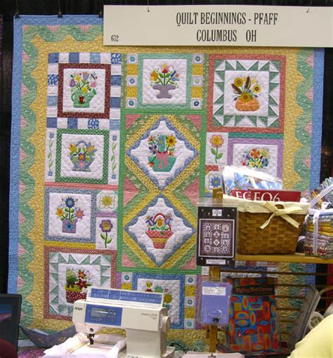 Quilt Beginnings Columbus lazy designs 187 nqa show beautiful quilts great