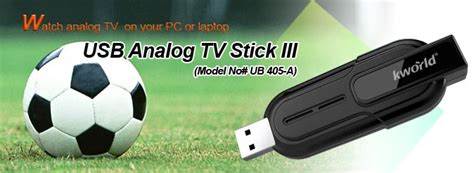 Usb Analog Tv Tuner Stick Iii Kworld Ub405 A kworld ub405 usb tv stick iii it shop bg