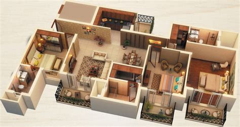 400 Square Feet Apartment by 1800 Sq Ft 3 Bhk 3t Apartment For Sale In Ats Green Dolce