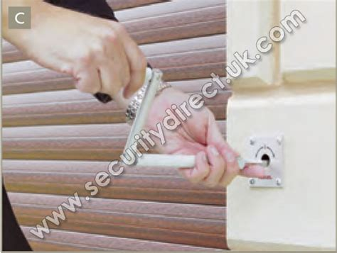 level manual override shutter override security direct