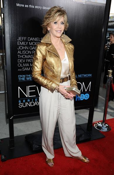 fonda photos premiere of hbo s quot the newsroom quot
