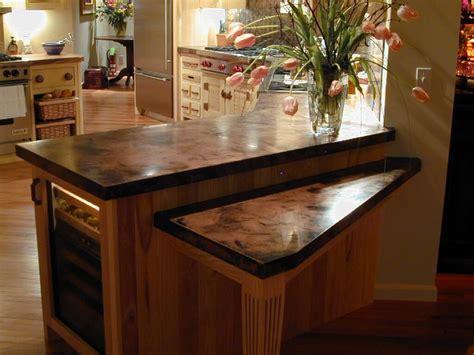 copper kitchen countertops copper countertops custom