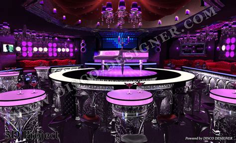 club themed decorations ultra baroque style design