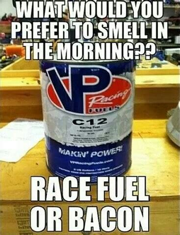 motocross race fuel i d like to smell bacon cooking in the cer parked at