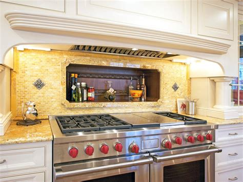 yellow kitchen backsplash ideas tin backsplashes pictures ideas tips from hgtv hgtv