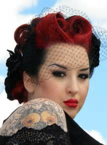 Wedding hair styles the misadventures of a rockabilly bride