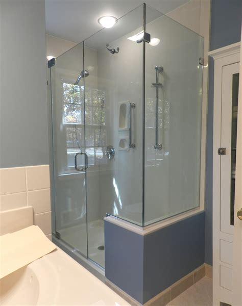 Shower Door King Panel Door Panel Return Shower Door King Shower Door Installations