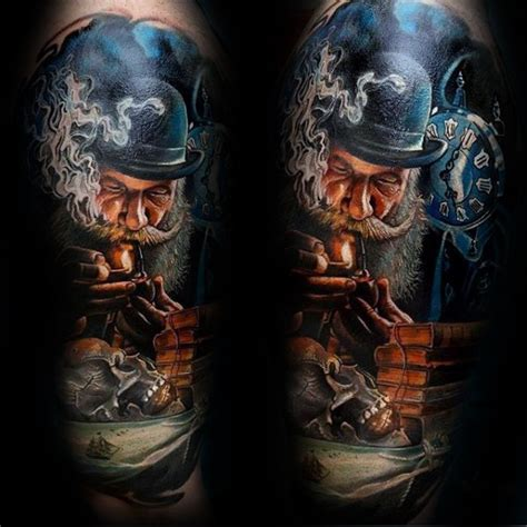 awesome terrific realistic skull tattoo 50 realistic skull tattoos for masculine design ideas