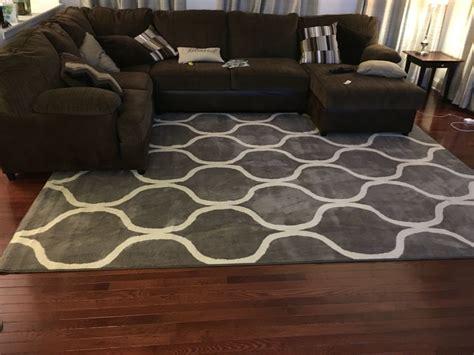 rug  brown sofa living rooms  brown sofas tips