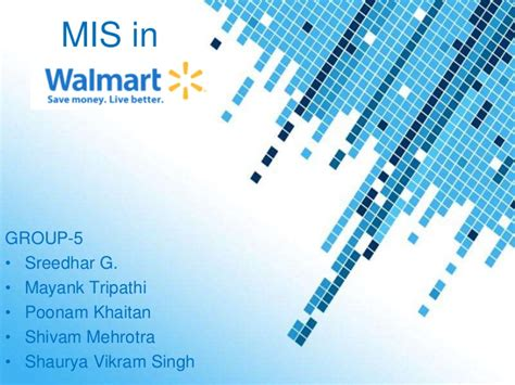 Mis In Walmart Walmart Powerpoint Template