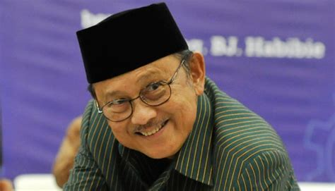 bj habibie habibie never involve religious elements in conflicts