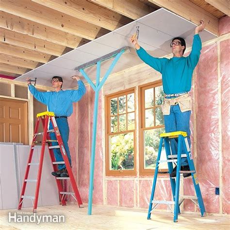 How to Hang Drywall Like a Pro ? The Family Handyman
