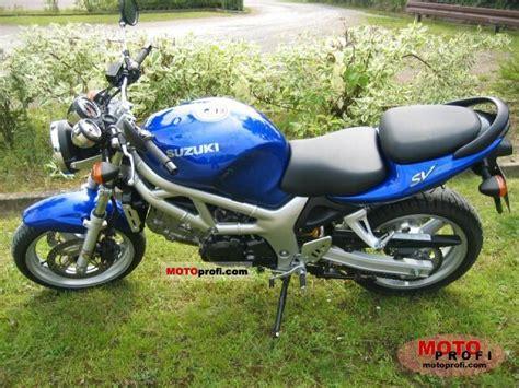 2002 Suzuki Sv650 Specs Suzuki Sv 650 2002 Specs And Photos