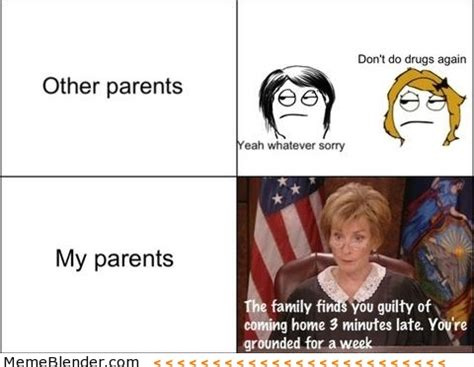Parents Meme - a peek inside your parents heads i was there