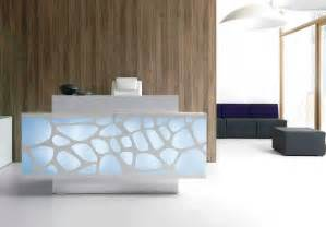 modern desk design contemporary reception desk design ideas for office