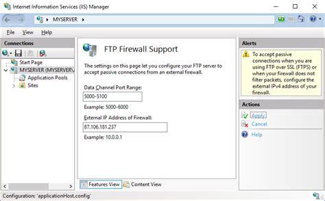tftp port installing a secure ftp server on windows using iis winscp